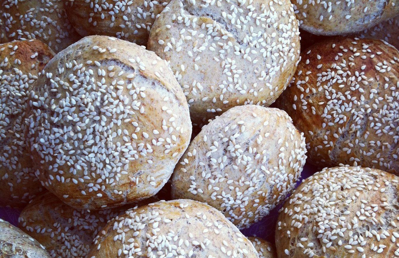 Burgerboller (velegnede til madpakker også)