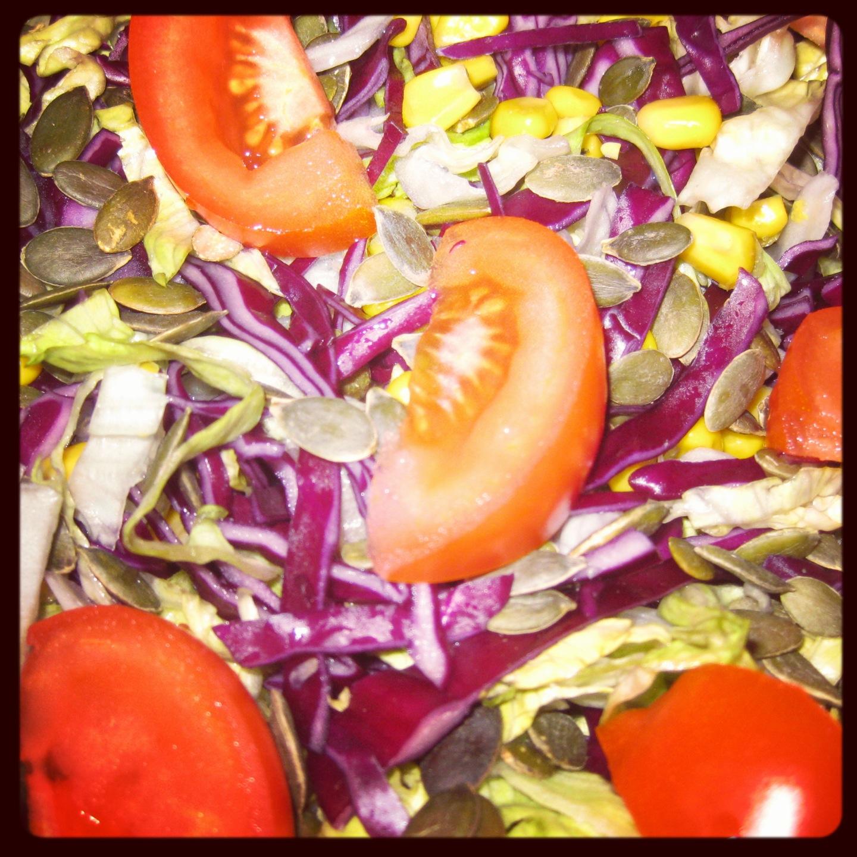 Simpel salat der passer godt til mexicanske retter.