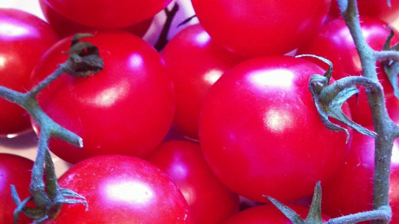 Klassisk tomatsalat