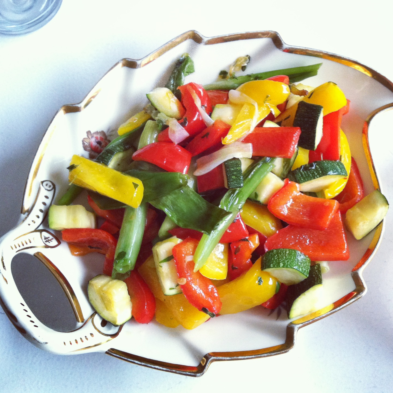 Sautérede grøntsager